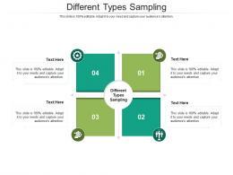 Different Types Sampling Ppt Powerpoint Presentation Outline Smartart Cpb