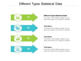 Different Types Statistical Data Ppt Powerpoint Presentation Summary Background Cpb