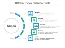 Different Types Statistical Tests Ppt Powerpoint Presentation Styles Graphics Pictures Cpb