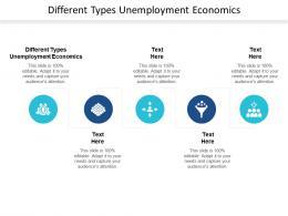 Different Types Unemployment Economics Ppt Powerpoint Presentation Summary Format Cpb