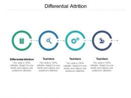 Differential Attrition Ppt Powerpoint Presentation Summary Visuals Cpb
