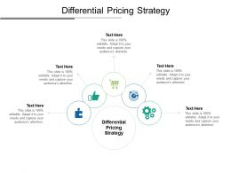 Differential Pricing Strategy Ppt Powerpoint Presentation Icon Graphics Pictures Cpb