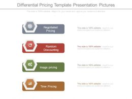 Differential Pricing Template Presentation Pictures