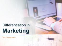 Differentiation In Marketing Powerpoint Presentation Slides