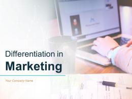 Differentiation In Marketing Powerpoint Presentation Slides