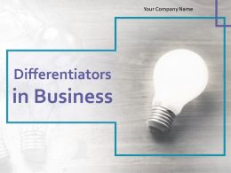 Differentiators In Business Powerpoint Presentation Slides
