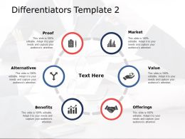 Differentiators Market Ppt Powerpoint Presentation File Background Images