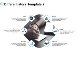 Differentiators Market Value Ppt Powerpoint Presentation Infographics Demonstration