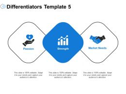 Differentiators Passion Ppt Powerpoint Presentation Infographics Elements
