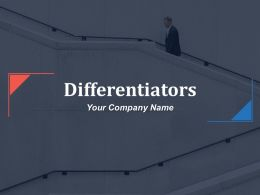 Differentiators Powerpoint Presentation Slides