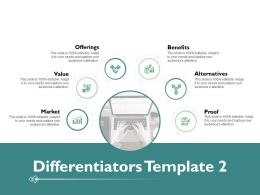 Differentiators Ppt Powerpoint Presentation Pictures Deck