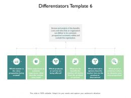 Differentiators Ppt Powerpoint Presentation Pictures Example File