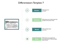 Differentiators Ppt Powerpoint Presentation Pictures Files