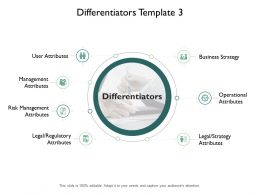 Differentiators Ppt Powerpoint Presentation Pictures Gallery