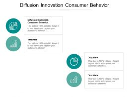 Diffusion Innovation Consumer Behavior Ppt Powerpoint Presentation Gallery Background Designs Cpb
