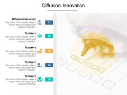 Diffusion Innovation Ppt Powerpoint Presentation Portfolio Background Image Cpb