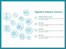 Digestive Disease Science Ppt Powerpoint Presentation Professional Slides