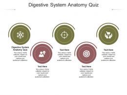 Digestive System Anatomy Quiz Ppt Powerpoint Presentation Icon Information Cpb