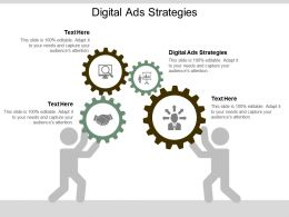 Digital Ads Strategies Ppt Powerpoint Presentation Gallery Themes Cpb