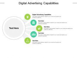 Digital Advertising Capabilities Ppt Powerpoint Presentation Gallery Design Inspiration Cpb