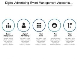 Digital Advertising Event Management Accounts Receivable Management Enterprise Management Cpb