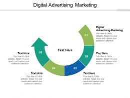 Digital Advertising Marketing Ppt Powerpoint Presentation Summary Infographics Cpb