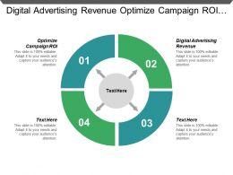 Digital Advertising Revenue Optimize Campaign Roi B2b Personalization Cpb