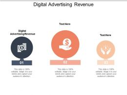 Digital Advertising Revenue Ppt Powerpoint Presentation Infographics Graphics Example Cpb