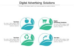 Digital Advertising Solutions Ppt Powerpoint Presentation Show Background Images Cpb