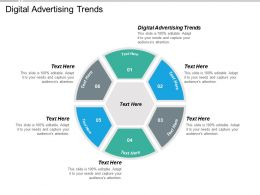 Digital Advertising Trends Ppt Powerpoint Presentation Gallery Portrait Cpb
