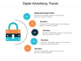 Digital Advertising Trends Ppt Powerpoint Presentation Infographic Template Slides Cpb