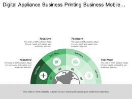 Digital Appliance Business Printing Business Mobile Communications