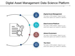 Digital Asset Management Data Science Platform Attract Customers Cpb