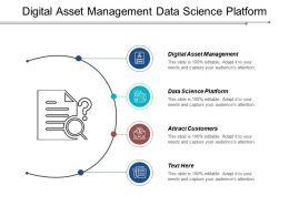 Digital Asset Management Data Science Platform Attract Customers Cpb