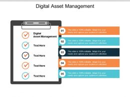 Digital Asset Management Ppt Powerpoint Presentation Outline Brochure Cpb
