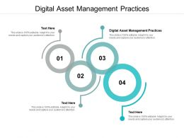 Digital Asset Management Practices Ppt Powerpoint Presentation File Files Cpb