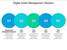 Digital Asset Management Solution Ppt Powerpoint Presentation Icon Good Cpb