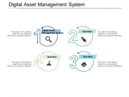 Digital Asset Management System Ppt Powerpoint Presentation Show Skills Cpb