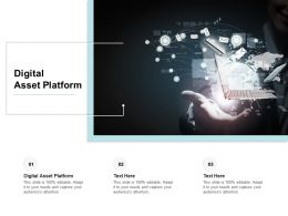 Digital Asset Platform Ppt Powerpoint Presentation Slides Guidelines Cpb