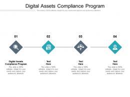 Digital Assets Compliance Program Ppt Powerpoint Presentation Layouts Ideas Cpb