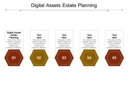Digital Assets Estate Planning Ppt Powerpoint Presentation Infographic Template Ideas Cpb