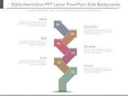 Digital Assimilation Ppt Layout Powerpoint Slide Backgrounds