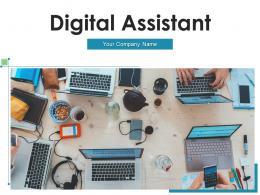 Digital Assistant Communication Depicting Service Automobile Individual