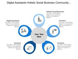 Digital Assistants Holistic Social Business Community Management Swarm Working