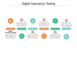 Digital Assurance Testing Ppt Powerpoint Presentation Icon Vector Cpb