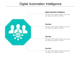 Digital Automation Intelligence Ppt Powerpoint Presentation Infographic Template Show Cpb