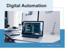 Digital Automation Process Implementation Management Optimization Business