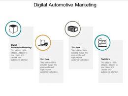 Digital Automotive Marketing Ppt Powerpoint Presentation Outline Styles Cpb