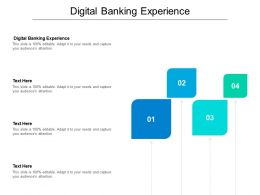 Digital Banking Experience Ppt Powerpoint Presentation Outline Smartart Cpb