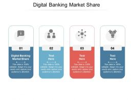 Digital Banking Market Share Ppt Powerpoint Presentation Infographic Skills Cpb